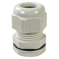 Cable glands IP 68, metric or PG, fully mounted